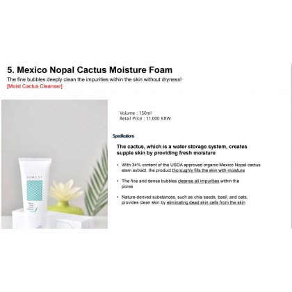 SOMEST - Mexico Nopal Cactus Moisture Foam ( 150ml )