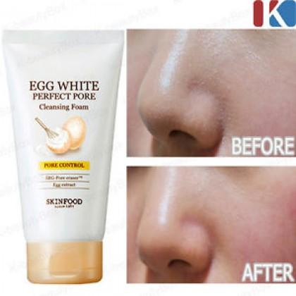 SKINFOOD - Egg White Perfect Pore Cleansing Foam ( 150ml )