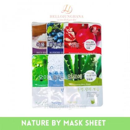NATURE BY - ESSENCE Mask Sheet ( Buy 10pcs Free 1pcs )