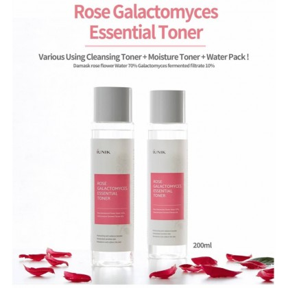 IUNIK - Rose Galactomyces Essential Toner ( 200 ml )