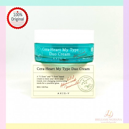 AXIS - Y Cera-Heart My Type Duo Cream ( 60ml )