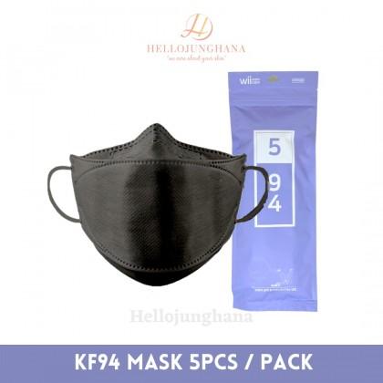 Wiicare Premium KF94 Respirator Face Mask ( 5pcs )