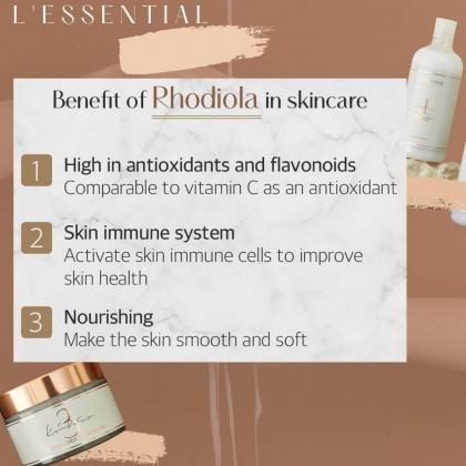 LESSENTIAL Rhodiola Lively Triple Cream 80ml