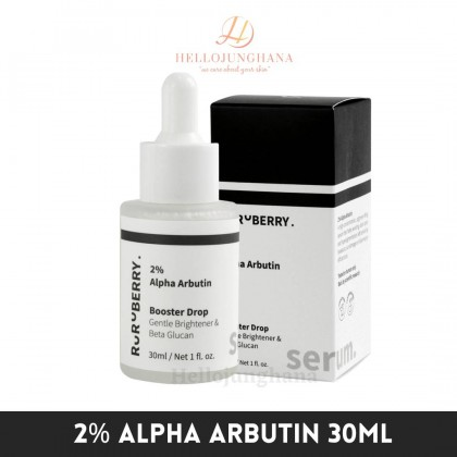 RURUBERRY 2% Alpha Arbutin 30ml